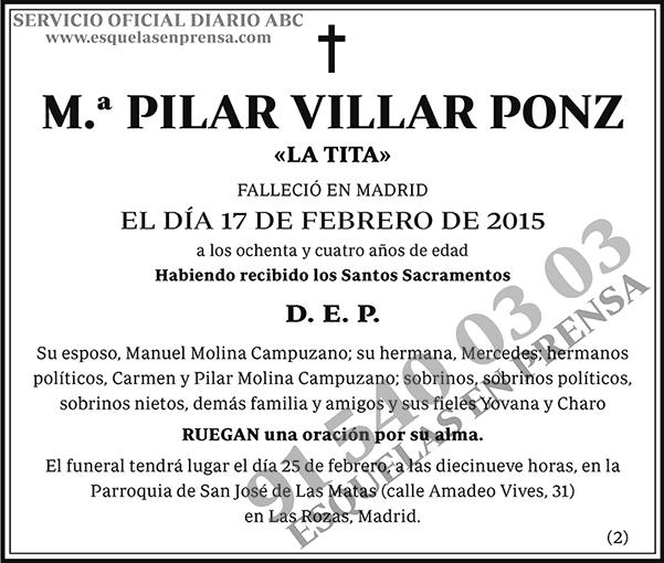 Pilar Villar Ponz
